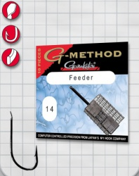 Крючок GAMAKATSU G-Method Feeder Strong B №12 (10шт.)